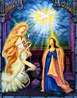 Annunciation to Mary