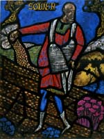 Sower - Canterbury Cathedral